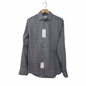 Eton Contemporary Fit Check Button Down Shirt  NWT